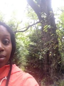 """""""Look, Ma, I'm in Nature."""" Selfie"""